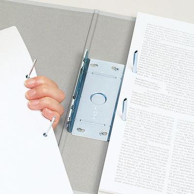 キングファイルG A4タテ とじ厚30mm背幅46mm グレー キングジム 片開きパイプファイル 973N