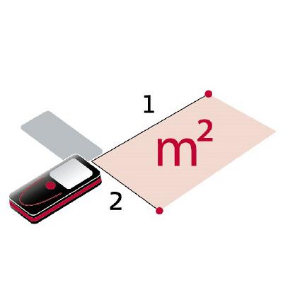 レーザー距離計タジマF02レッド