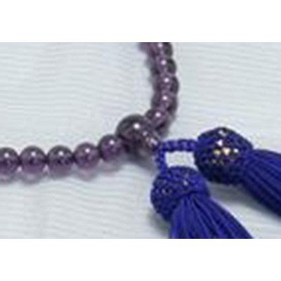 数珠 ハリ紫水晶 共仕立