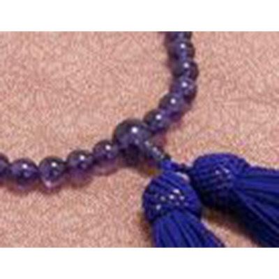 数珠 紫水晶 7mm共