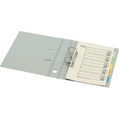 キングジム レバーリングファイルDタイプ A4タテ 背幅69mm ライトグレー 1袋(10冊入)