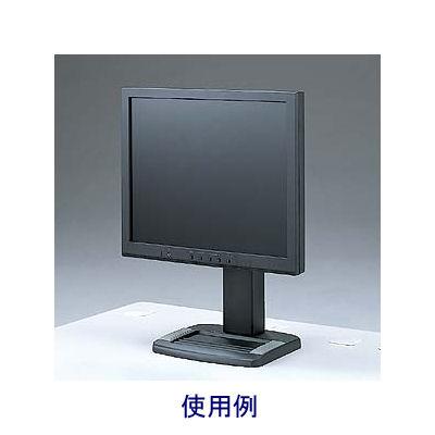 サンワサプライ 昇降液晶モニタスタンド(ブラック) 1面用 CR-27BK (取寄品)