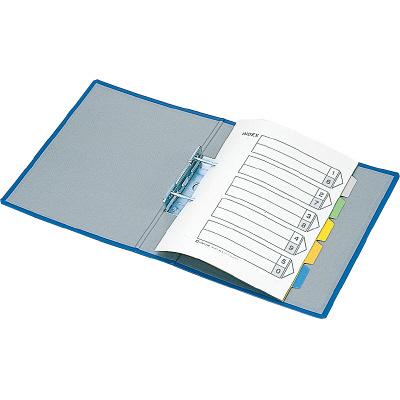 キングファイル スーパードッチ A4タテ とじ厚80mm 10冊 グレー キングジム 両開きパイプファイル 1478クレ