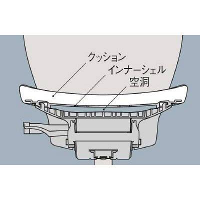 イトーキ コセール オフィスチェア ローバック 背裏ボーダー 肘無し ネイビー/オフブラック KE-980GS-T1B2C2 1脚 (直送品)