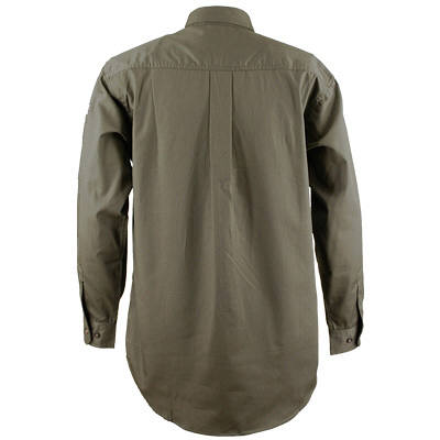 カジメイク ボタンダウンシャツ ダークグリーン 3L (取寄品)