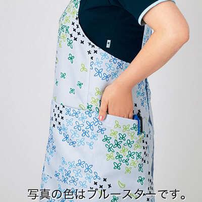 エプロン ジャスミン(ピンク系) フリー HM-2480c/8 F (取寄品)