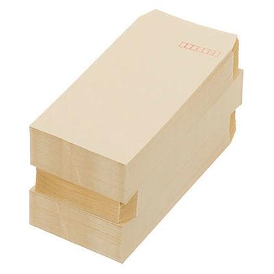 寿堂 FSC認証クラフト封筒 長3〒枠あり 300枚(100枚×3パック)