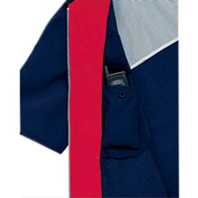 明石スクールユニフォームカンパニー 男女兼用半袖ジャケット ネイビー S UN791-7-S (直送品)