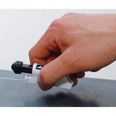 シンワ測定 消耗品 安全カルコ マグネット付 ハンディシリーズ用 77843 1セット(10個) (直送品)