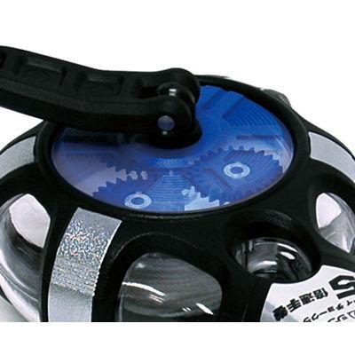シンワ測定 ハンディチョークライン 5倍速手巻 粉付3倍太糸 ブルー 77560 1セット(3個) (直送品)