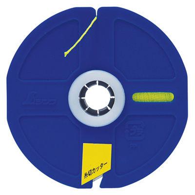 シンワ測定 ポリエステル水糸 リール巻 細 0.5mm 500m 蛍光イエロー 78477 1セット(10個) (直送品)