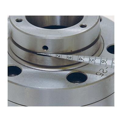 テーパーゲージ 1~15mm 直尺付 62612 1セット(10個) シンワ測定 (直送品)