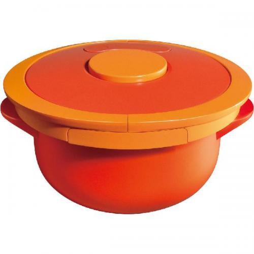 【212キッチンストア】 マイヤー 電子レンジ圧力鍋2 2.5L オレンジ