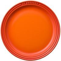 【212キッチンストア】 910140-19-09 ラウンド プレート LC19cm オレンジ