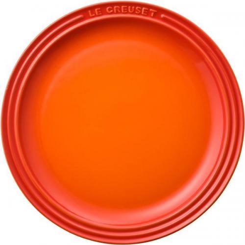 【212キッチンストア】 910140-23-09 ラウンド プレート LC23cm オレンジ