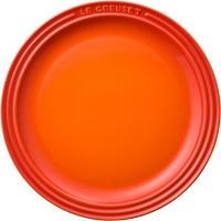 【Tポイント10倍】 910140-23-09 ラウンド プレート LC23cm オレンジ 【キッチンタオルMP_GP】