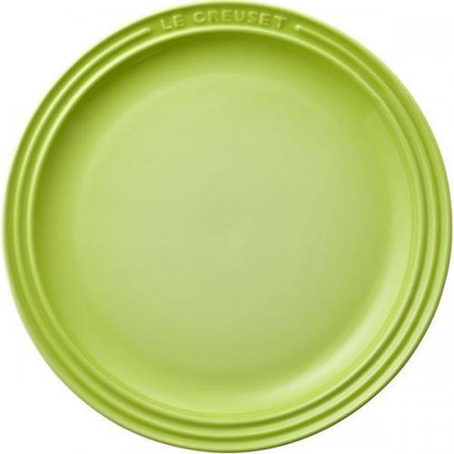 【212キッチンストア】 910140-23-71 ラウンドプレートLC23cm フルーツグリーン