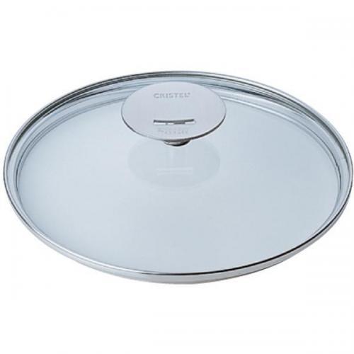 【212キッチンストア】 327000035 クリステル耐熱ガラス製フタ24cm