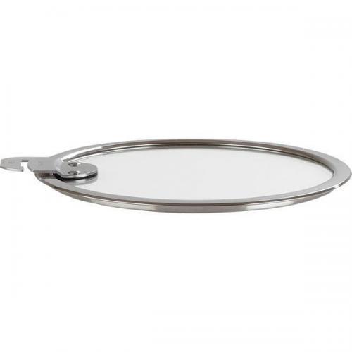 【212キッチンストア】 K14SA クリステル フラット ガラス蓋 14cm