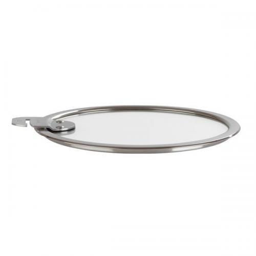 【212キッチンストア】 K18SA クリステル フラット ガラス蓋 18cm
