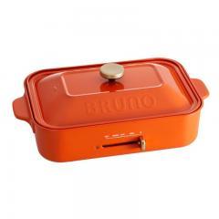 【限定カラー】BRUNO コンパクトホットプレート オレンジ