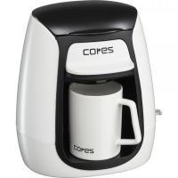 【Tポイント10倍】 C311WH コレス 1カップコーヒーメーカー ホワイト 【キッチンタオルMP_GP】