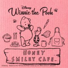 【212 キッチンストア】 Disney (ディズニー) Honey smile cafe スポンジワイプ PK