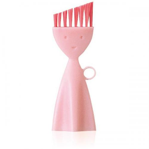 【212キッチンストア】 K187P お弁当箱洗いブラシ ピンク