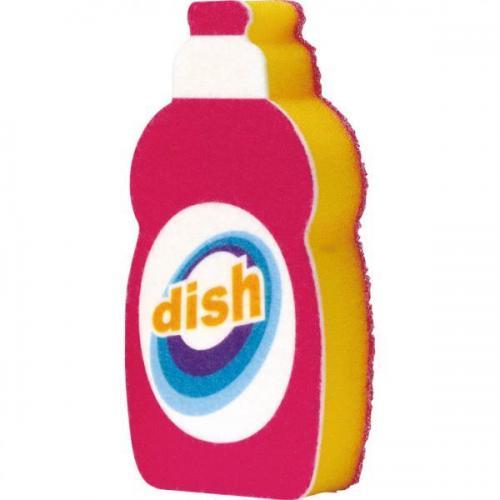 【212キッチンストア】 K-209P 洗剤ボトルスポンジ ピンク