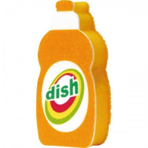 【212キッチンストア】 K-209O 洗剤ボトルスポンジ オレンジ