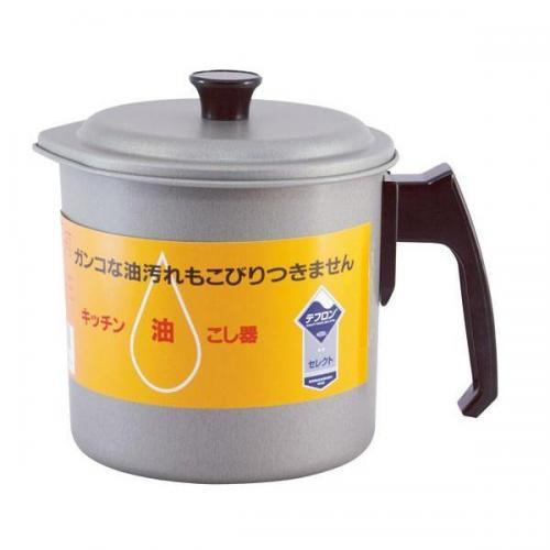 【212キッチンストア】 シルバーストン油こし器1.2L
