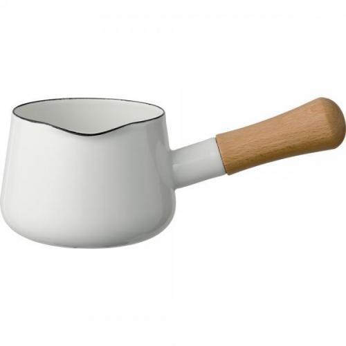 【212キッチンストア】 SD-12M・W ソリッド ミルクパン 12cm ホワイト