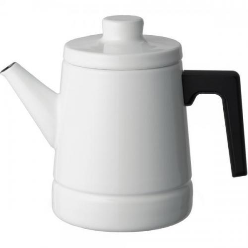 【212キッチンストア】 SD-1.6CP・W ソリッド コーヒーポット ホワイト