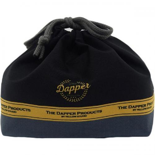 【212キッチンストア】 61174 YELLOWSTUDIO Dapper ランチ巾着 ブラック