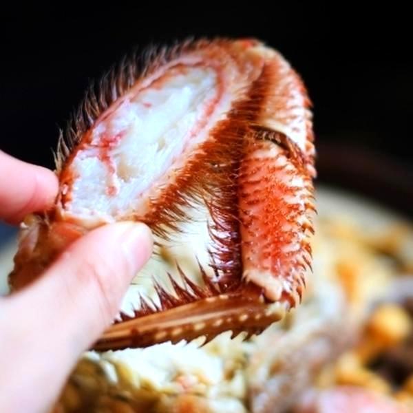 029 「自然解凍で美味しくお召し上がり頂けます」毛がに[特大3尾・1.5kg・ボイル冷凍・毛蟹]
