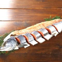 088  特上新巻鮭姿切身 1本・1.8~2.0kg