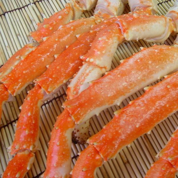 015 「自然解凍で美味しくお召し上がり頂けます」ボイルたらばがに足(特上大・2kg・ボイル冷凍・タラバ蟹)