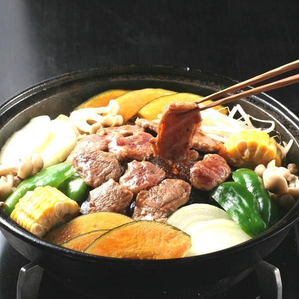 286 ロースジンギスカン味付(400g×2袋・冷凍・化粧箱入)