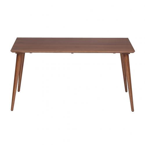 Lohaco Acme Furniture Cardiff Dining Table Walnut 150cm