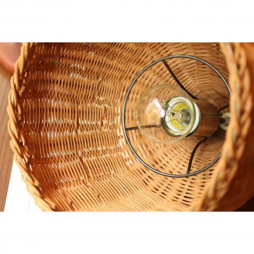 ACME Furniture WICKER LAMP ウィッカー ランプ 直径20cm 【送料無料】【ポイント10倍】