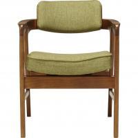 ACME Furniture WARNER ARM CHAIR GREEN ワーナー ダイニングチェア グリーン 【送料無料】