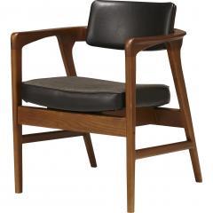 ACME Furniture WARNER ARM CHAIR BLACK ワーナー ダイニングチェア ブラック 【送料無料】
