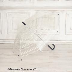 10%OFFクーポン対象商品 Moomin×Afternoon Tea/ビニール傘/ホワイト/― クーポンコード:HNYN6CX