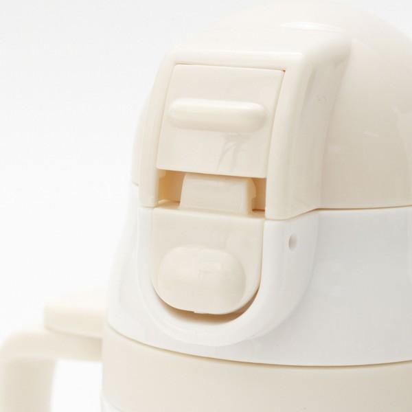 5%OFFクーポン対象商品 はらぺこあおむし/ストロー付きステンレスマグカップ/ベージュ/― クーポンコード:V6DZHN5