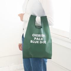 CHERISH PALE BLUE DOT/エコバッグS/グリーン/―