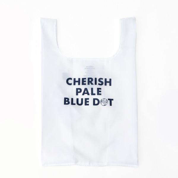 10%OFFクーポン対象商品 CHERISH PALE BLUE DOT/エコバッグM/ホワイト/― クーポンコード:HNYN6CX