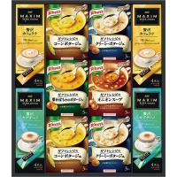 〈ギフトレシピ〉「クノール」スープ&コーヒーギフト【MPCP_FD】