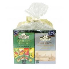 【お得なセット】アーマッドティー デカフェ アールグレイ & デカフェ フルーツセレクション ティーバッグ 20袋