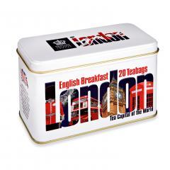 【数量限定】アーマッドティー ロンドンインプレッション イングリッシュブレックファースト ティーバッグ 20袋入り
