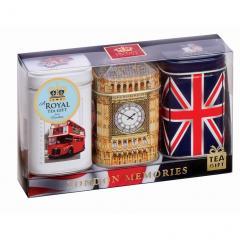 【数量限定】アーマッドティー ロンドンメモリーズ リーフティー3缶セット
